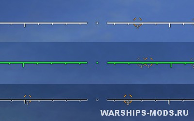 прицелы для World of warships от lastpilot