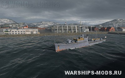 порт мурманск для WORLD OF WARSHIPS