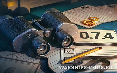 общий тест обновления 0.7.4 для world of warships мир кораблей тестирование