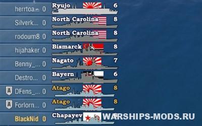 иконки кораблей от panzerschiffe